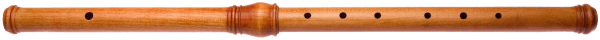Early Baroque flute in d, copy - Lissieu